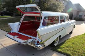 All Chevy 1957 chevy wagon for sale : 1957 Chevy Bel Air Wagon Hums and Purrs FOR SALE - YouTube