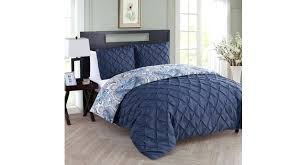duck egg blue and grey duvet sets 3 piece navy beige pinch pleated damask themed blue grey doona cover and gray comforter