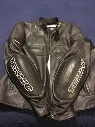 leather men s sportbike jacket