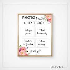photo guest sign in book guest book sign monogram guest book letters photo booth guestbook