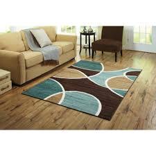 brown blue green area rug designs