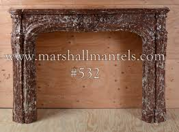 inventory 532 18th 19th century lxv fireplace mantel exceptional rouge rince marble exquisitely carved royal cau antique mantel collection of