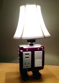 desk lamp with usb charging port table or station by on table lamp with usb port