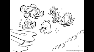 Finding Dory Coloring Pages Free At Getdrawingscom Free For