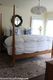 bedding tips and tricks and check out that amazing capiz chandelier kellyelko