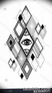 черно белый эскиз тату геометрия 09032019 020 Tattoo Sketch