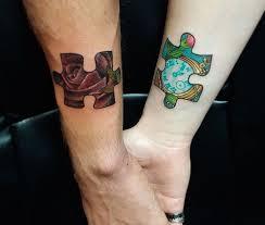Tatuaggi Di Coppia Un Disegno Per Due Per Celebrare Lamore Pourfemme