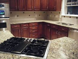 Granite Kitchen Tops Johannesburg Granite Installation Santa Cecilia Countertop And Tile B Flickr