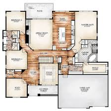 I love this plan!!!(The Durango model plan features a compelling foyer