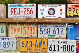 license plates during covid 19