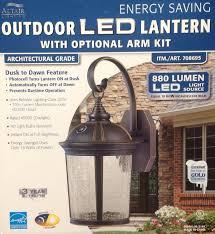 altair lantern lighting led outdoor lantern with optional arm kit landscape torch lights com