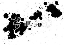 飛び散る墨イラスト No 1140962無料イラストならイラストac