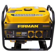 Firman Power Equipment PO3607 Gas Powered 4550 3650 Watt Extended
