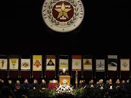 u s department of > photos > photo essays > essay view gates at texas a m secretary robert m gates addresses the graduates and the audience during the commencement ceremony