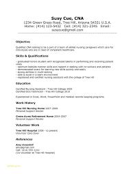 Job Description For Nursing Assistant Or Examples Cna Resumes