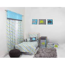 grey toddler sheet set
