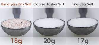 tablespoons salt and sauer the