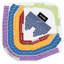 1 Wrigley Field Seating Chart Tickets Concert Wrigley