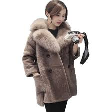 Online Shop U-SWEAR 2018 Winter Faux Suede Lambs Wool ...