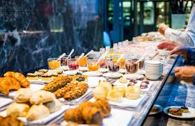 can eat buffets in america