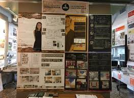 cida accredited interior design schools. Fine Design Photo Showing A Multitude Of Interior Design Program Student Work Boards Intended Cida Accredited Schools F