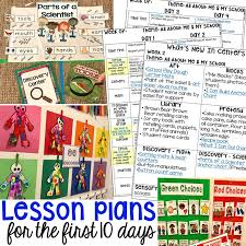 School Safety Rules Chart First 10 Days Of School Lesson Plans And More Pocket Of