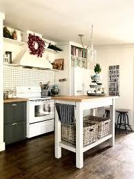 Farmhouse Kitchen Christmas Decor Incredible Rustic Decoration Ideas