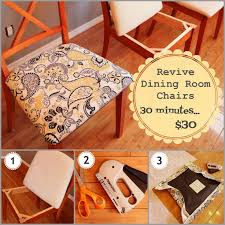 fabric type for dining room chairs. dining room a whole new look in about 30 minutes with only $30 fabric type for chairs