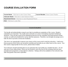 Course Evaluation Template - Radioberacahgeorgia