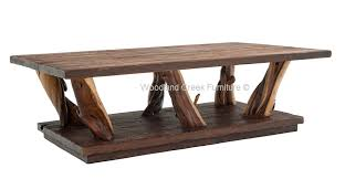 Lodge Coffee Table Rustic Furniture Cabin Table Free Form