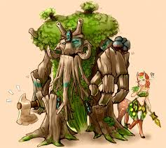 dota 2 treant protector and enchantress rooftrellen and
