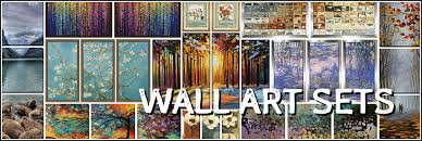 wall art sets framed canvas in remodel 4 on cheap wall art canvas sets with framed wall art sets redrhet