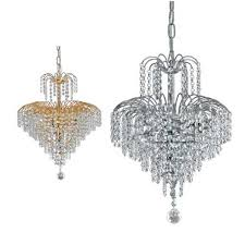 cascade chandeliers small