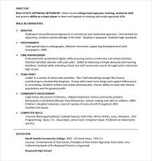 Commercial Real Estate Appraiser Sample Resume Adorable 44 Real Estate Resume Templates To Download For Free Sample Templates