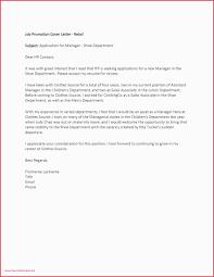 Cover Letter Format Internal Job Business Case For Promotion