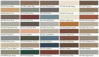 Ace Wood Royal Deck Stain Color Chart Ace Wood Royal Deck Stain Color Chart Semi Transparent