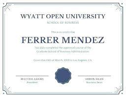degree certificate templates edge borders diploma certificate college degree templates ffshop
