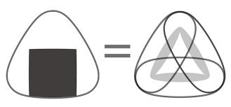 イラレでおにぎり曲線の描き方 鈴木メモ