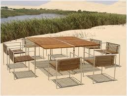 modern metal outdoor furniture photo. Modern Metal Outdoor Furniture » How To From Beltempo Wood And Contemporary Photo E