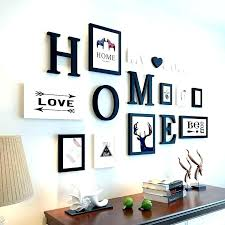 family tree wall graphic with photo frames vinyl decal picture collage for