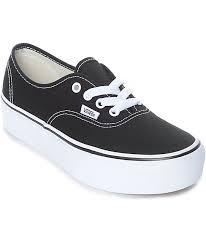 vans authentic. vans authentic platform black \u0026 white skate shoes