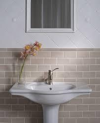 beige subway tile bathroom ideas