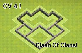 Clash Of Clans Layout Cv 4 Youtube