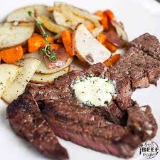 grilled chuck steak recipe with