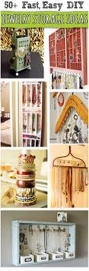 50+ <b>Creative DIY Jewelry</b> Organizers, love the bobbins on the last ...