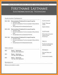 Resume Templates For Publisher Microsoft Publisher Resume Templates Bio Letter Format