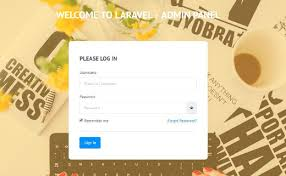 download template for website in php 10 free dashboards and templates for laravel creative