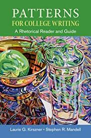 Patterns For College Writing Mesmerizing Amazon Patterns For College Writing A Rhetorical Reader And