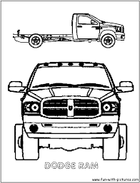 Coloring Pages Free Printable Monster Truck Coloring Pagesr Kids