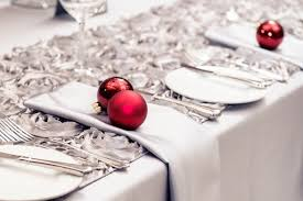 red and silver table decorations. Christmas Ideas Table Decoration Glittering Baubles Red And Silver Color Theme Decorations H